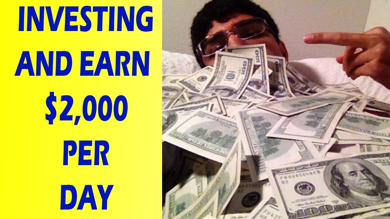 How To Invest Money In Share Market  Invest Money For Beginners Earn  $2,000 Per Day
