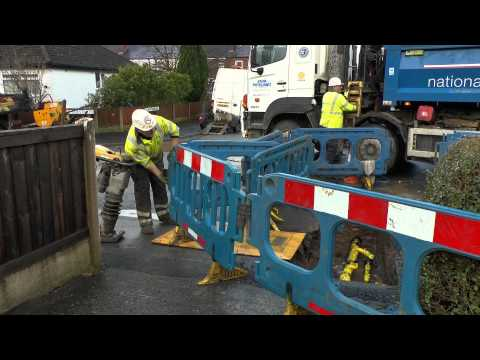 Replacing Gas Main Pipes Coppull