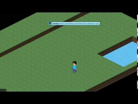 Como hacer una casa de minecraft en habbo youtube for Como hacer una casa en habbo