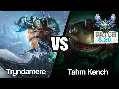 Vidéo d'Alderiate : [FR] TRYNDAMERE VS TAHM KENCH - LE RETOUR DE TRYNDA - 8.20 - DIAMANT 1