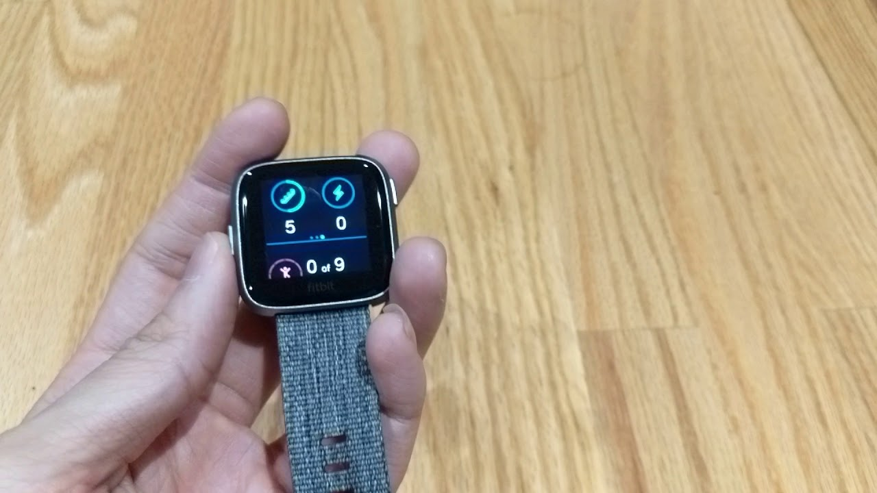 Fitbit Versa Special Edition UI Overview