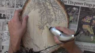 Wood Carving in Fast Motion - Glen Shackley
