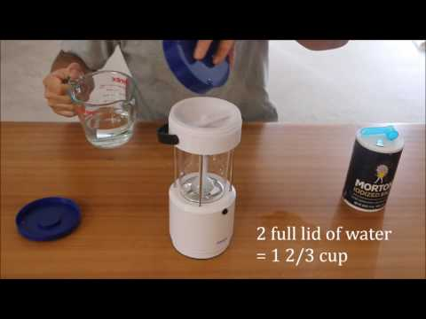 Salt Water LED Lantern Aqupa LP 250 How To Use