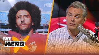 Colin Cowherd talks Nike's ad campaign featuring Colin Kaepernick | NFL | THE HERD