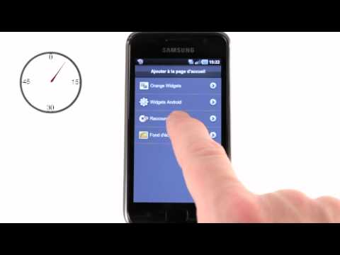 Minute Mobile - raccourci d'appel sur Samsung Galaxy S