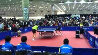 Fang Bo vs Wang Wei (2011 NA Teams)