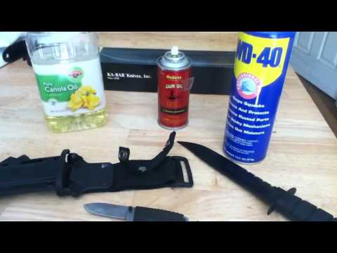 How to clean your knives