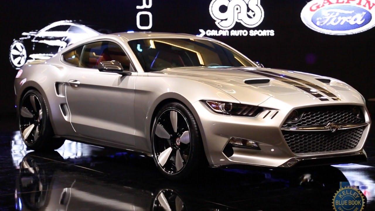Galpin Fisker Rocket 2015 Ford Mustang 2014 La Auto Show
