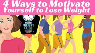 4 Ways to MOTIVATE Yourself to Lose Weight | Neuro Slimmer System
