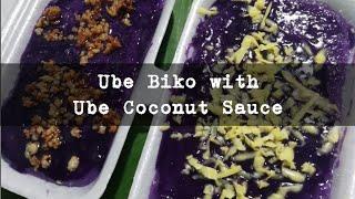 Special Ube Biko (w Ube Coconut Sauce)