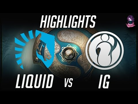 Liquid vs IG TI7 Quarter Final Highlights The International 2017 by Time 2 Dota #dota2 #ti7