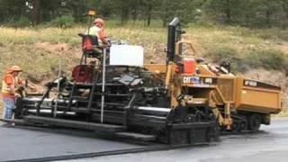 B-roll: Road Paving & Asphalt
