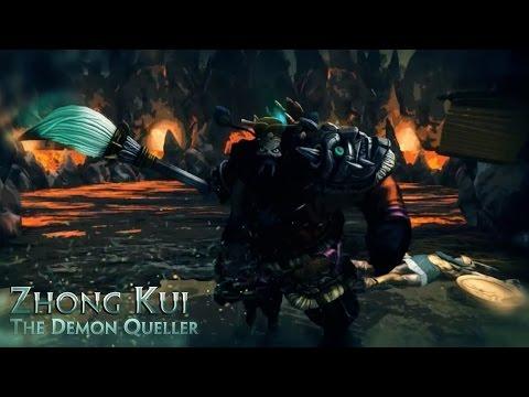 видео: smite гайд по игре  zhong kui