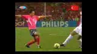 En Hızlı Gol! Hakan Şükür   2002 Dünya Kupası, 29haz2002, Turkiye 1   Kore 0   YouTube