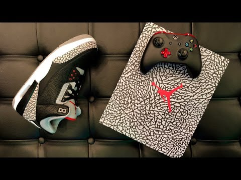 UNBOXING: LIMITED Edition AIR JORDAN x XBOX One X Sneaker Collaboration