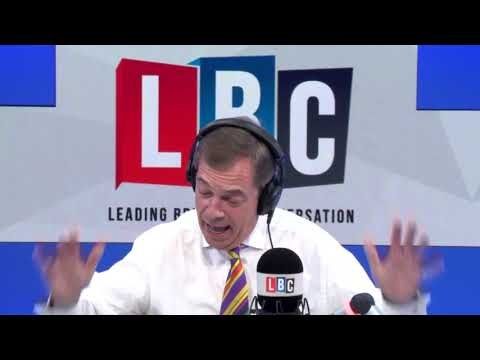 "Nigel Farage Savages Tony Blair Over Second Referendum ""Betrayal"""