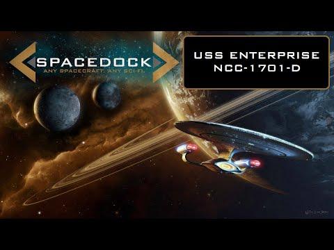 Star Trek: USS Enterprise NCC-1701-D - Spacedock