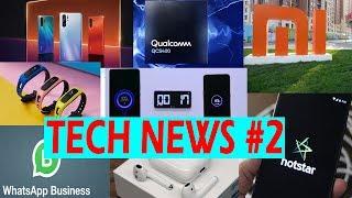 Xiaomi super charger turbo, Hotstar V.I.P, Mi band 4, whatsapp, Airpod  GADGET PEDIA TECH NEWS #2