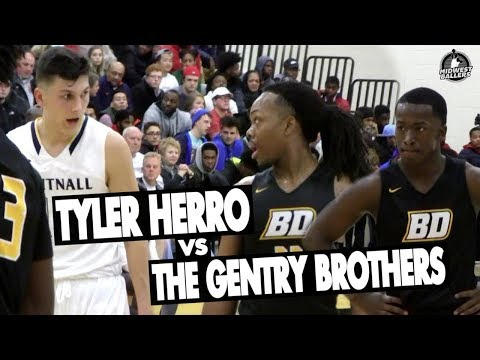 Tyler Herro Takes On The Gentry Brothers In A SHOOTOUT!! Full Highlights