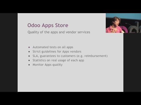 OXP2017 Day 2 - Theatre - Tutorial: Keynote Odoo 2018 : Vision & Strategy