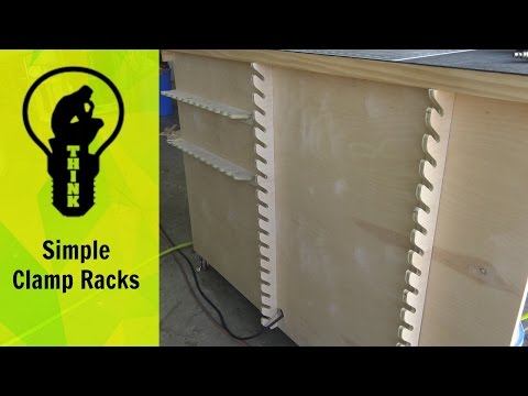 How To: Make a Simple Clamp Rack