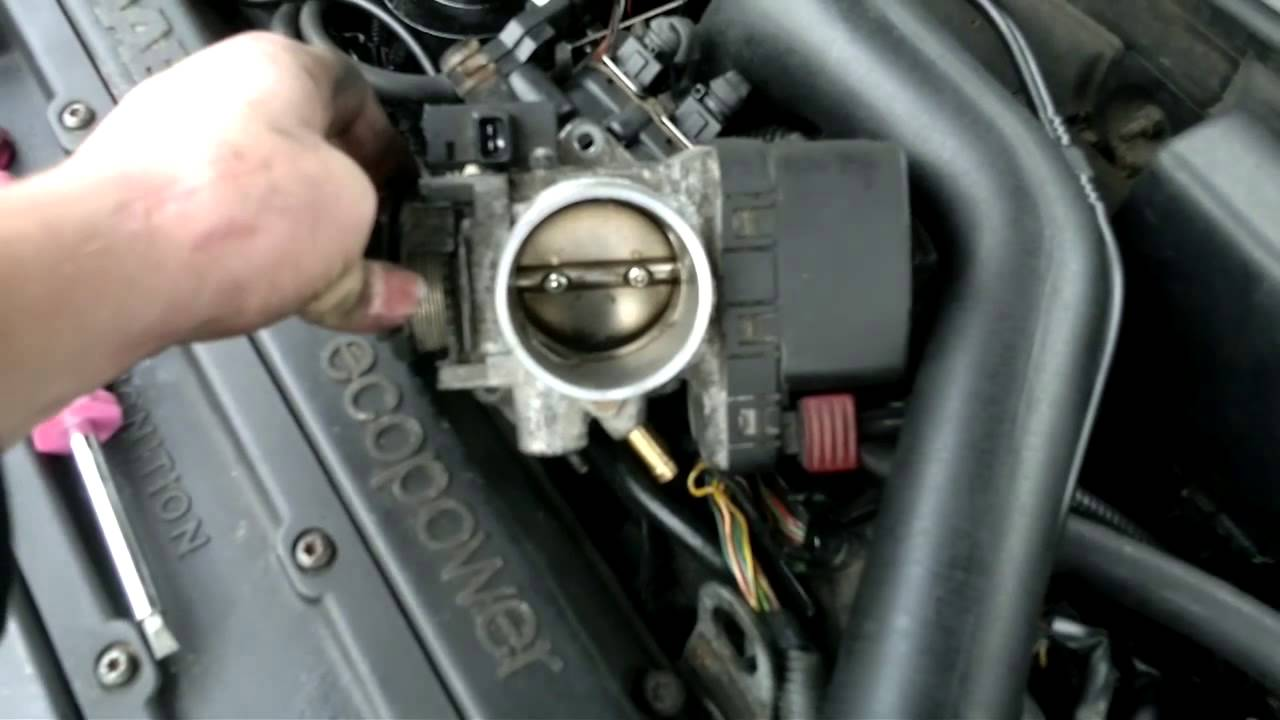 throttle body problem saab youtube