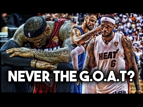 Can LeBron James NEVER BE THE G.O.A.T?
