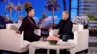 Ellen Meets Inspiring Airport Agent Courtney