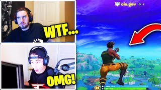 Streamers React To FLYING HACKERS (*INSANE*) | Fortnite Moments