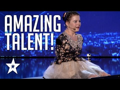 Girl With No Arms Sings & Plays Piano With Her Feet | Romania's Got Talent | Got Talent Global
