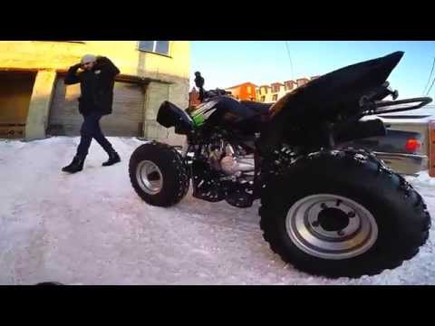 Спортивный квадроцикл KAYO YDF125 по низкой цене с доставкой по России