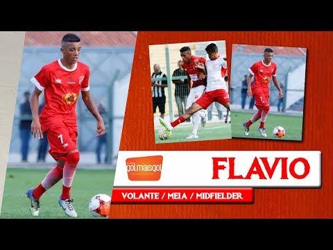⚽ FLAVIO - VOLANTE / MEIA - Flavio dos Santos Gandra de Souza