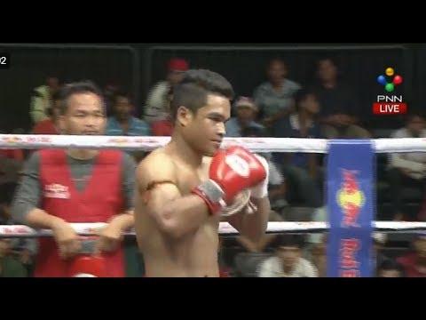 Thol Makra vs Thai, Khmer Boxing PNN 23 July 2017, Kun Khmer vs Muay Thai