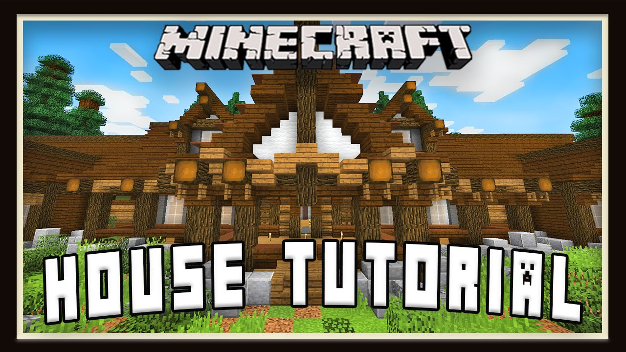 Minecraft Tutorial: How To Build A House - Rustic Design Details - on daylight ranch house plans, minecraft log cabin floor plans, minecraft medieval castle plans, minecraft mansion plans, minecraft apartment complex plans, minecraft chicken coop plans, minecraft skyscraper plans,