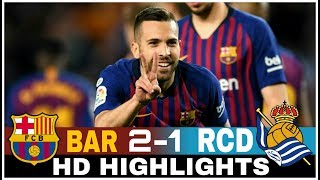 Download Video FC BARCELONA vs REAL SOCIEDAD 2-1 FULL HIGHLIGHTS & GOALS 🌟 WITH POINTS TABLE at the end MP3 3GP MP4