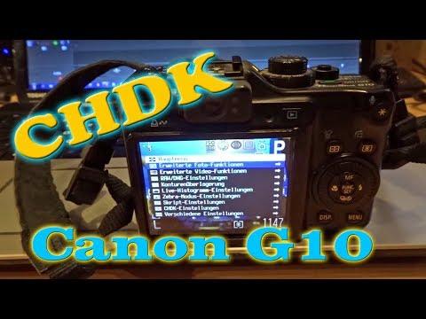 CHDK Canon Powershot G10 - Vorbereitung Und Installation