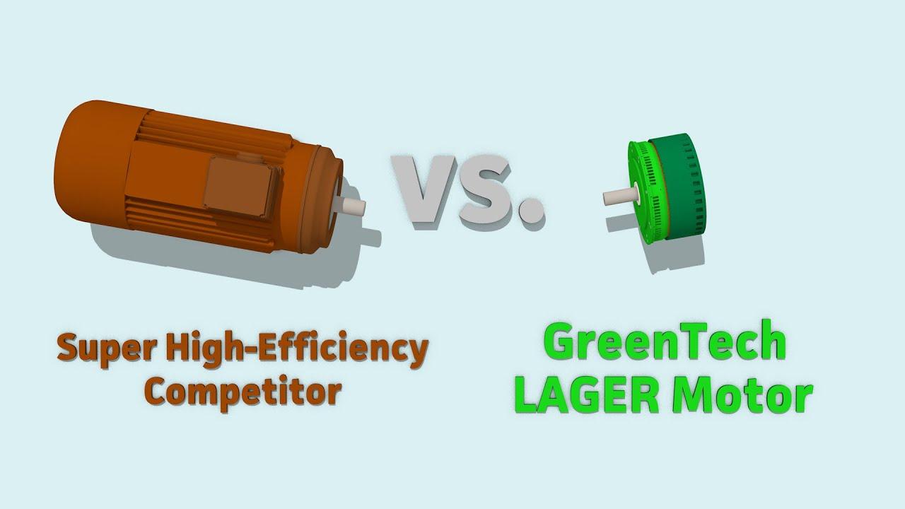 Greentech Motors Super High Efficiency Electric Motor