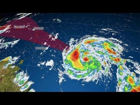 TROPICAL STORM MARIA-HURRICANE MARIA- Hurricane MARIA Projected Path-Hurricane NEWS Today