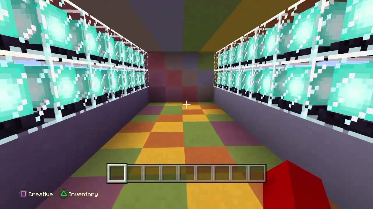 how to make rainbow sheep in minecraft ps4