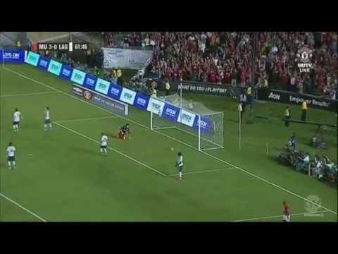 LA Galaxy vs Manchester United F.C I Goal R.James