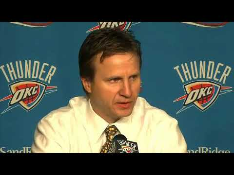 Post-game: Thunder-Pacers (2010-01-10)