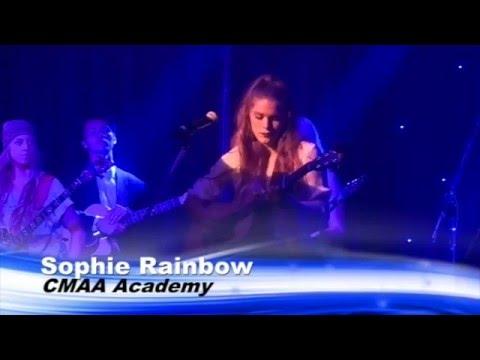 Sophie Rainbow - 'When Winter Rolls In'  CMAA Academy Concert Tamworth 2016