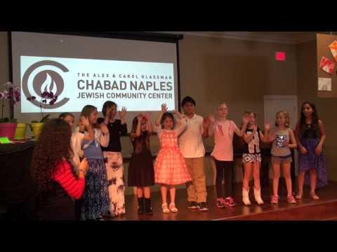 End of Chabad  Hebrew School 2014-2015 Celebration  5/20/15