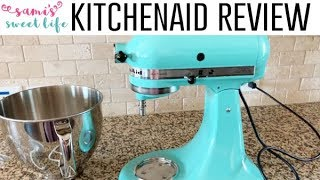 KitchenAid Artisan Series 5-Qt. Stand Mixer Review | It's a Must Have in the Kitchen