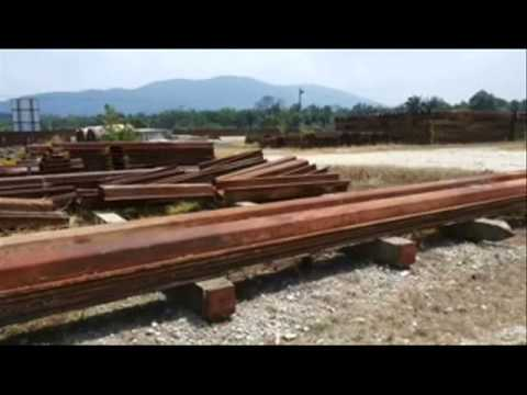 Used Mild Steel Sheet Piles for Sale