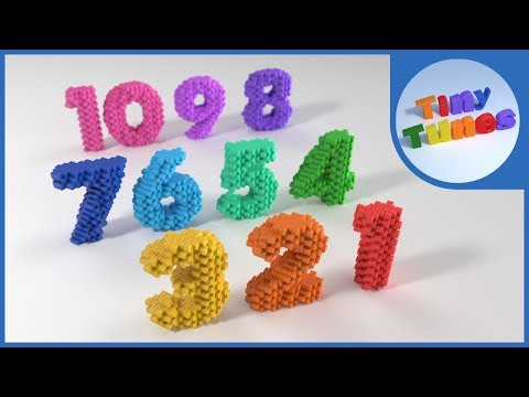 Count Down Song from 10 to 1 | Tiny Tunes