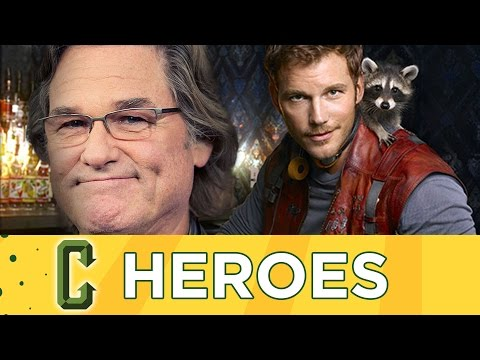 Collider Heroes - Kurt Russell To Play Starlord's Dad In Guardians of The Galaxy 2?