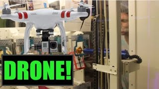 Winning a DRONE From KEYMASTER!! | Arcade Games