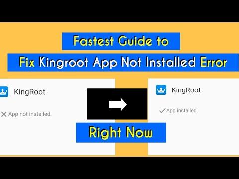 5 Unknown Methods To Fix Kingroot App Not Installed [100% Working