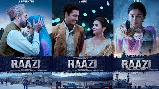 Alia Bhatt Is An Ideal Daughter, A Perfect Wife And A Fearless Spy In Raazi l Trailer Out